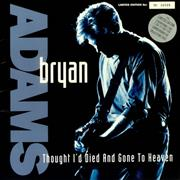Click here for more info about 'Bryan Adams - Thought I'd Died - Silver Vinyl'