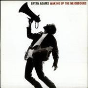 Bryan Adams Waking Up The Neighbours UK 2-LP vinyl set