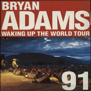 Click here for more info about 'Bryan Adams - Waking Up The World Tour '91 + NEC Stubs'