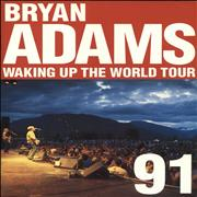 Click here for more info about 'Bryan Adams - Waking Up The World Tour '91 + stub'
