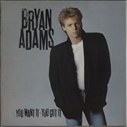 Click here for more info about 'Bryan Adams - You Want It, You Got It'