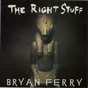 Click here for more info about 'Bryan Ferry - The Right Stuff'