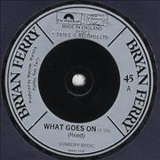 Click here for more info about 'Bryan Ferry - What Goes On'