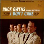 Click here for more info about 'Buck Owens - I Don't Care - Red Vinyl Test Pressing'
