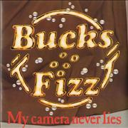 Click here for more info about 'Bucks Fizz - My Camera Never Lies - Poster Sleeve'