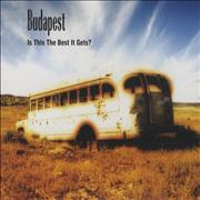 Budapest Is The Best It Gets UK CD single