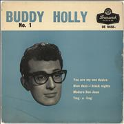 Click here for more info about 'Buddy Holly - Buddy Holly No. 1 EP - 1st - 8.59'