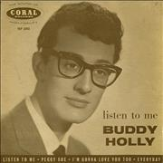 Click here for more info about 'Buddy Holly - Listen To Me EP - 2nd'