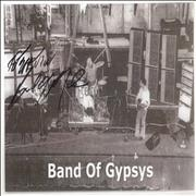 Click here for more info about 'Band Of Gypsys Picture Signed By Buddy Miles'