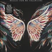 Click here for more info about 'Bullet For My Valentine - Gravity - Green, Clear & Black Vinyl - Sealed'
