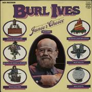 Click here for more info about 'Burl Ives - Junior Choice'