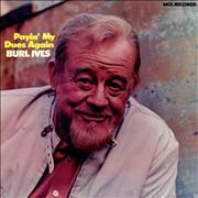 Click here for more info about 'Burl Ives - Payin' My Dues Again'