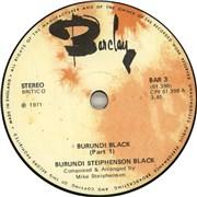Click here for more info about 'Burundi Black - Burundi Black'