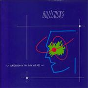 Click here for more info about 'Buzzcocks - Harmony In My Head - Blue Sleeve'