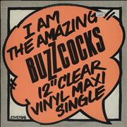Click here for more info about 'Buzzcocks - I Am The Amazing Buzzcocks - Clear Vinyl'