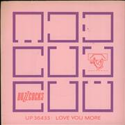Click here for more info about 'Buzzcocks - Love You More + Sleeve'