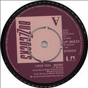 Click here for more info about 'Buzzcocks - Love You More'