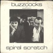 Click here for more info about 'Buzzcocks - Spiral Scratch - 1st issue vinyl/2nd issue p/s -  VG'