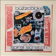 Click here for more info about 'Buzzcocks - Spiral Scratch - Punk Art Print'