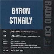 Click here for more info about 'Byron Stingily - Sing A Song'