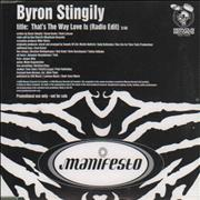Click here for more info about 'Byron Stingily - That's The Way Love Is'