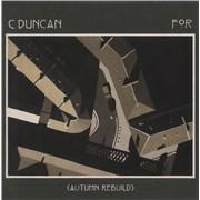 Click here for more info about 'C Duncan - For (Autumn Rebuild) - Orange Vinyl'
