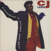 Click here for more info about 'CJ Lewis - Everything Is Alright'