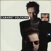Click here for more info about 'Cabaret Voltaire - Don't Argue'