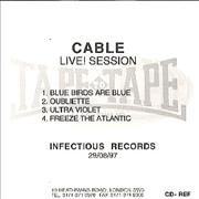 Click here for more info about 'Cable - Live! Session'