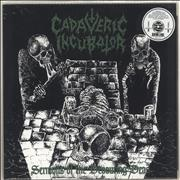 Click here for more info about 'Cadaveric Incubator - Sermons of the Devouring Dead - Green and Black Splatter'