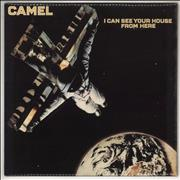 Camel I Can See Your House From Here - 1st UK vinyl LP