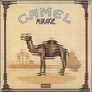 Camel Mirage - 1st + insert - VG UK vinyl LP