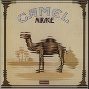 Camel Mirage - 1st + insert UK vinyl LP