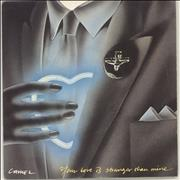 Click here for more info about 'Camel - Your Love Is Stronger Than Mine - A Label + p/s'