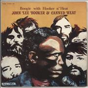 Click here for more info about 'Canned Heat & John Lee Hooker - Boogie With Hooker N' Heat'