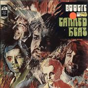 Canned Heat Boogie With Canned Heat UK vinyl LP