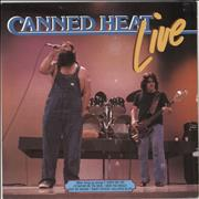 Canned Heat Live Netherlands vinyl LP