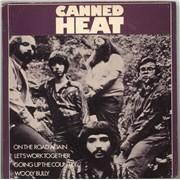 "Canned Heat On The Road Again EP + Sleeve UK 7"" vinyl"