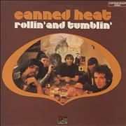 Canned Heat Rollin' And Tumblin' UK vinyl LP