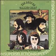 Canned Heat The Best Of Canned Heat Canada vinyl LP