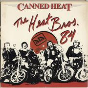 """Canned Heat The Heat Brothers '84 EP USA 12"""" vinyl Promo"""