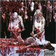 Cannibal Corpse Butchered At Birth UK vinyl LP
