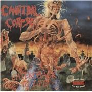 Cannibal Corpse Eaten Back To Life UK vinyl LP