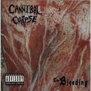 Cannibal Corpse The Bleeding - Censored Artwork UK vinyl LP