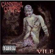 Cannibal Corpse Vile UK vinyl LP