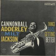 Click here for more info about 'Cannonball Adderley - Things Are Getting Better - blue label'