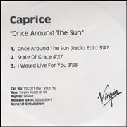 Click here for more info about 'Caprice - Once Around The Sun'