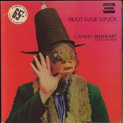 Click here for more info about 'Captain Beefheart & Magic Band - Trout Mask Replica - 1st - VG/EX'