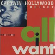 Click here for more info about 'Captain Hollywood Project - All I Want'