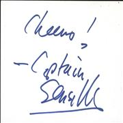 Click here for more info about 'Captain Sensible - Autograph'